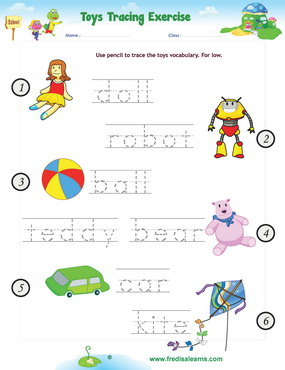 toys tracing